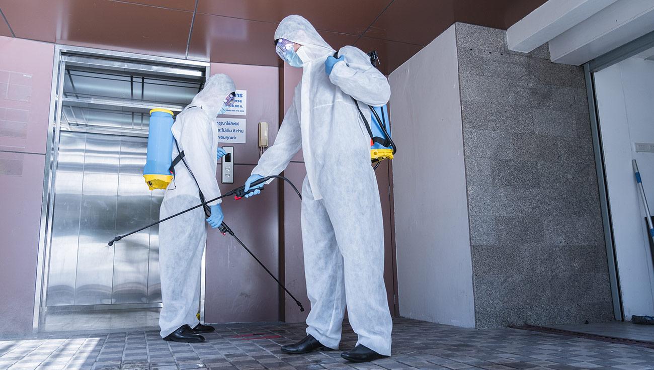 Limpiezas de desinfección con nebulización